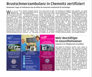 Anzeige Freie Presse Klinikführer
