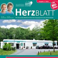Neue Ausgabe unserer Zeitschrift HerzBlatt 02 / 2018