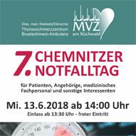 Einladung zum 7. Chemnitzer Notfalltag am 13.06.2018