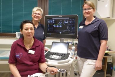 Erweiterte Praxisräume der kardiologischen Ambulanz