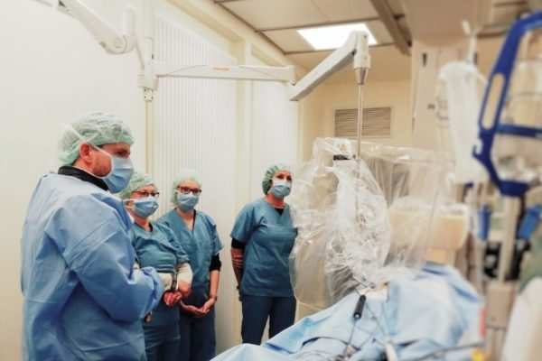 Hinter den Kulissen im Herzkatheterlabor