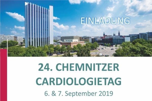24. CHEMNITZER CARDIOLOGIETAG 06./07.09.2019